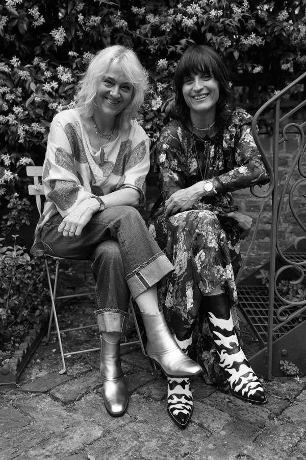 Charlotte Pilcher & Vanessa Gillingham